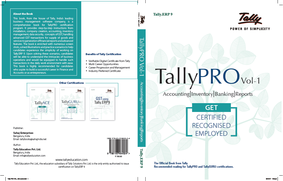 Tally Course Book